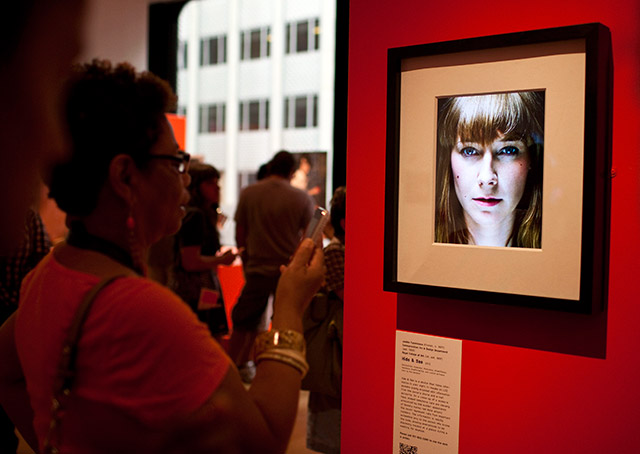 Hide & See at the MoMA. Image: Caleb Ferguson / New York Times / Redux / eyevine